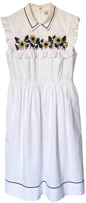 Orla Kiely White Cotton Dress for Women