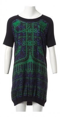 Louis Vuitton Navy Silk Dresses