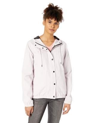 Volcom Junior's Junior's Plus Size Enemy Stone Windbreaker Jacket