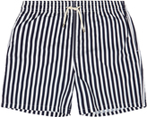 Solid & Striped The Classic Riviera Navy Stripe Swim Shorts