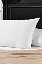 2-Pack 300 Thread Count Diamond Jacquard Memory Fiber Pillows - White