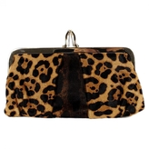 Christian Louboutin Leopard print Exotic leathers Clutch bag