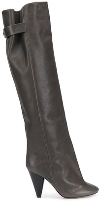 Isabel Marant Lacine over-the-knee heeled boots