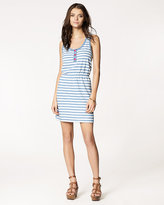 Indigo Stripe Dress