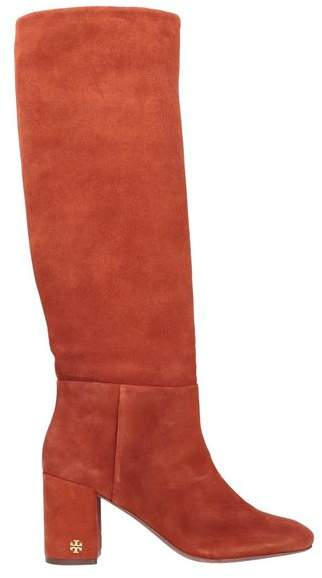 023d487fe Red Lined Leather Boots For Women - ShopStyle UK