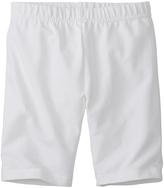 Hanna Andersson White Very Güd Bike Shorts