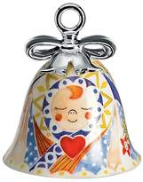 Alessi Holy Family Jesus Bell Christmas Decoration, Multi