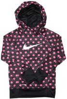Nike Youth Girls Therma-Fit KO 3.0 Polka Dot Pullover Hoodie
