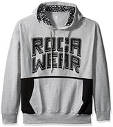 Rocawear Men's Big and Tall Banner Long Sleeve Hoody