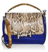 Tod's Double T Amu Python Skin Messenger Bag