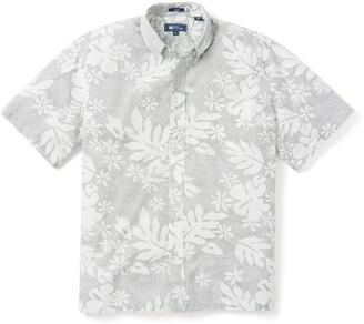 Reyn Spooner Dotty Pualani Short Sleeve Button-Down Camp Shirt