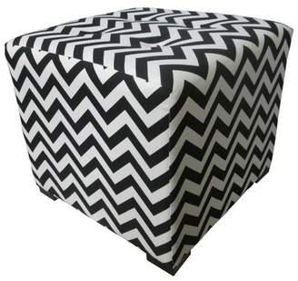 Sole Designs Merton Cube Tufted Cube Ottoman Sole Designs