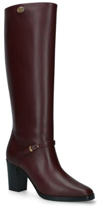 Gucci Leather Rosie Riding Boots