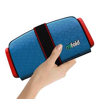 mifold The Grab-and-go car Booster seat Group 2/3, Denim Blue