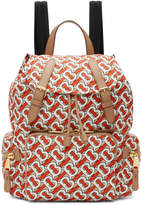 Burberry Red Medium Monogram Backpack