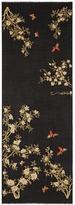 Janavi 'Enchanted Forest' garden embellished cashmere scarf