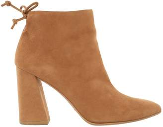 Stuart Weitzman \N Camel Suede Ankle boots