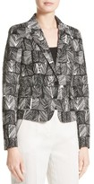 Max Mara Women's Faglia Stretch Cotton Jacquard Blazer