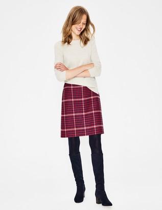 British Tweed Mini Skirt