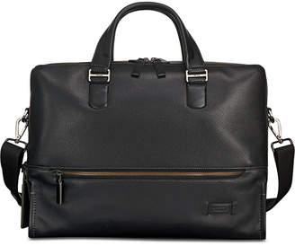 Tumi Men Harrison Horton Double-Zip Leather Briefcase