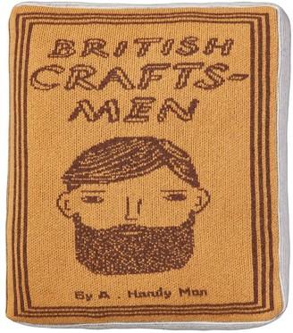 Craftsmen Book Lambswool Pillow