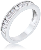 Kate Bissett Cubic Zirconia & Silvertone Channel Ring