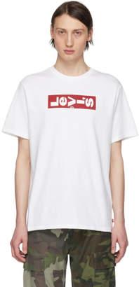 Levi's Levis White Oversized Logo T-Shirt