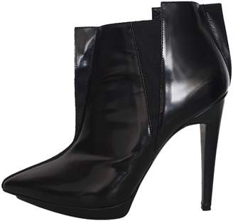 Pierre Hardy \N Black Leather Ankle boots