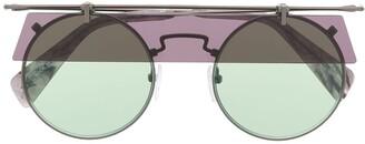 Yohji Yamamoto Eye Shade Sunglasses