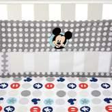 Disney Mickey's Best Buddies Secure-Me Mesh Crib Liner