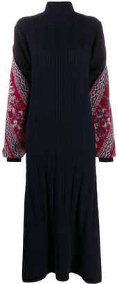 Y/Project Roll Neck Sweater Dress