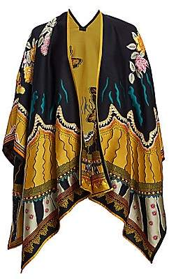 Etro Women's Garden of Eden Jacquard Cape
