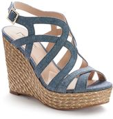 JLO by Jennifer Lopez Women's Espadrille Wedge Sandals