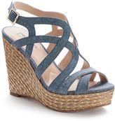 JLO by Jennifer Lopez Women's Espadrille Wedge Sandals
