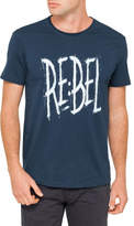 R & E RE: Denim Graphic Tee