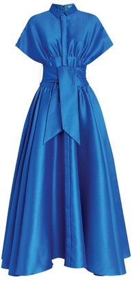 Alexis Mabille Bow Maxi Dress