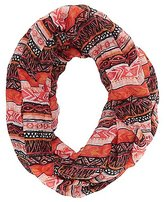 Charlotte Russe Printed Infinity Scarf