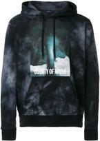 Marcelo Burlon County of Milan tie dye graphic print hoodie