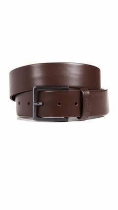 HUGO BOSS Men's Gionio Smooth Leather Belt