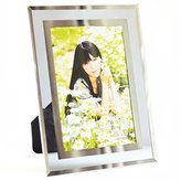 Gift garden 4 by 6 -Inch Pictue Frame Make by Morden Glass for Photo Display 4x6