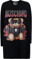Moschino Teddy Bat Printed Oversized Dress