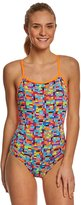 Funkita Women's Stacked Up Single Strap One Piece Swimsuit 8148396