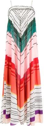 Missoni Chevron Stripe Maxi-Dress