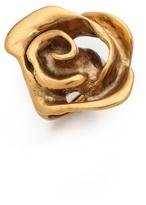 Oscar de la Renta Flower Ring