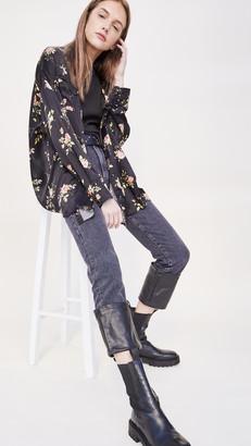 R 13 Axl Slim Jeans with Cuff