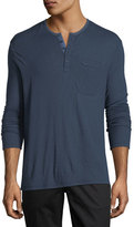 ATM Anthony Thomas Melillo Double-Faced Henley Shirt