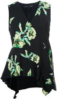 Proenza Schouler sleeveless floral print top - women - Silk - 4