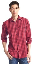 Gap Jaspe checkered standard fit shirt