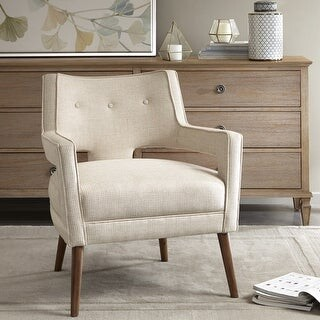 Madison Home USA Nicoli Cream Accent Chair