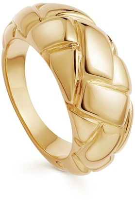 Missoma Lucy Williams Gold Waffle Ring